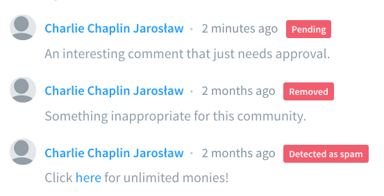who deleted removed my comment or blocke disqus